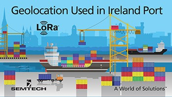 illustration: LoRa used in Cork (Ireland) port