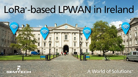 LoRa-based network in Ireland