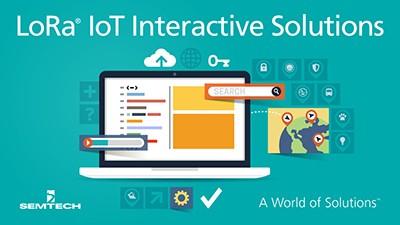 myDevices LoRa interactive demo platform