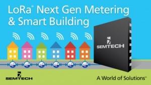 Semtech LoRa smart metering & smart building