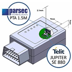 World's Lowest Profile Active and Passive Antennas from Parsec Technologies Make Perfect Companions to Mini GPS Receiver from Telit and Achieve Best-in-Class Position Accuracy, Sensitivity