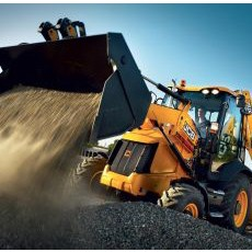 JCB heavy equipment