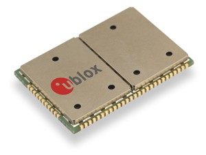 u-blox launches universal UMTS/HSPA+ wireless module