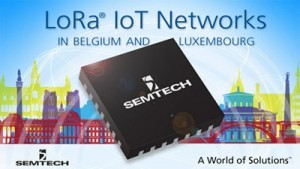 LoRa-based IoT network deployed in BeneLux by Proximus