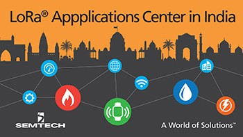LoRa applications center in India