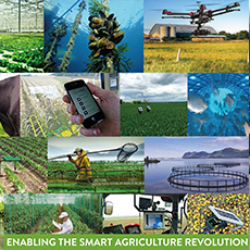 Smart farming and food production must accelerate rapidly to keep pace with population growth