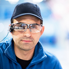 "Airbus sees the future through the vision of ""smart glasses"""