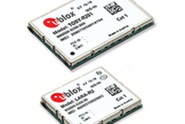 u-blox introduces a portfolio of cost-efficient LTE Cat. 1 modules for M2M and automotive applications