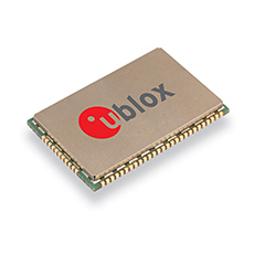 u-blox LISA-C210 CDMA450 module targets smart metering and smart grid applications