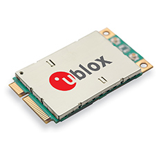 Verizon certifies u-blox LTE mPCIe module for high-speed M2M applications