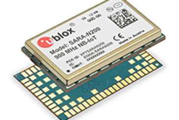 World's first cellular NB-IoT module combines global connectivity with over 10 years' battery life for low data rate IoT applications