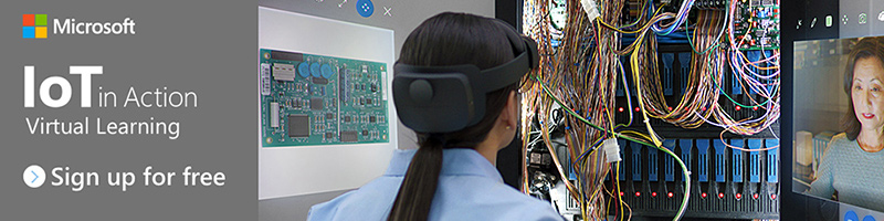 IoT in Action Virtual Learning banner